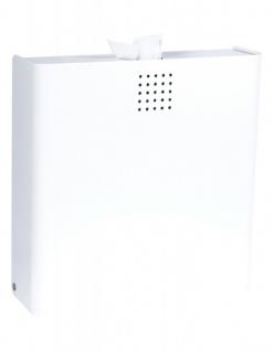 Proox® ONE snow fall SF-400 2in1 Hygiene-Abfallbehälter + Hygienebeutelspender weiß