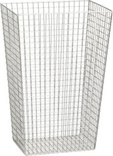 Franke 31 Liter Gitterkorb Abfalleimer CHRX608 zur Wandmontage aus Edelstahl