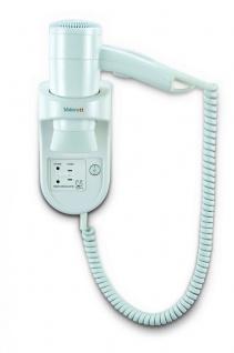Valera Premium Smart 1600 Watt Shaver Haartrockner aus weißem Kunststoff