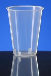 20er Set Coffee & Tea Cup 0, 15l transparent - Kunststoff