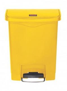 RUBBERMAID Kunststoff-Tretabfallbehälter mit Pedal an der Breitseite 30 L - Vorschau 2