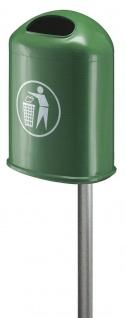 Abfalbehälter für draußen 45 Liter