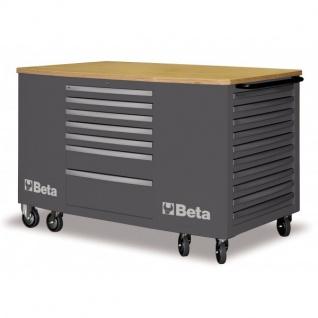 Beta Mobiler Arbeitsplatz mit 28 Schubladen - in 3 Farben erhältlich - Vorschau 1