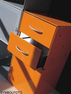 Graepel High Tech 2 Schubladen aus lackiertem Stahl für QBO Würfel