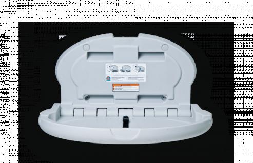 Koala Wickeltisch Oval KB-208 MICROBAN® Hygieneschutz - Mit pneumatische Zylinder - Vorschau 2