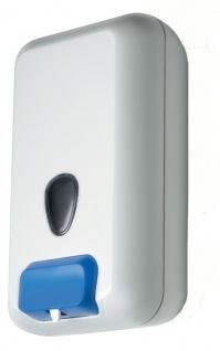 Marplast Seifenspender Hobelix aus Kunststoff in Weiß zur Wandmontage 3 Liter