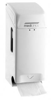 Mediclinics Abschließbarer Toilettenpapierspender für 2 Rollen