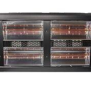 Heatlight HLQB Quarz schwarzer Infrarotstrahler 8000 Watt mit 2 versch. Lampenfarben