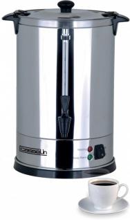 Casselin Kaffeemaschine 6, 8 Liter aus Edelstahl - Anti-Brand - Vorschau