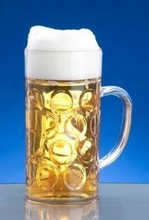 SET 30 St. Kunststoff Maß Krug 1l SAN Glasklar Spülmaschinen fest, lebensmittelecht - Vorschau 3