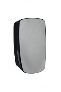 PlastiQline Exclusive Seifenspender 900 ml aus schwarzem Edelstahl zur Wandmontage