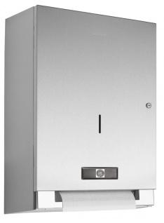Wagner-EWAR Elektrischer Papierrollenspender Batteriebetrieb WP1401 Edelstahl für Aufputzmontage