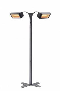 Infralogic Heliosa HiDesign 933 Infrarot Standheizung mit flexiblen Armen - Vorschau