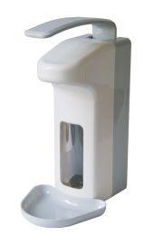 MediQo-line Seifen- u. Desinfektionsspender aus Kunststoff ABS zur Wandmontage
