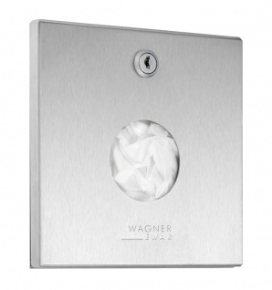 Wagner-EWAR Hygienebeutelspender WP256 Edelstahl für Unterputzmontage