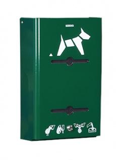 Rossignol Hygeca Hundekotbeutel-Spender zur Wandbefestigung erhältlich in 5 Farben