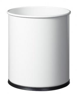 Rossignol Papierkorb 15L aus Stahl mit UV-stabiler Pulverbeschichtung oder Edelstahl