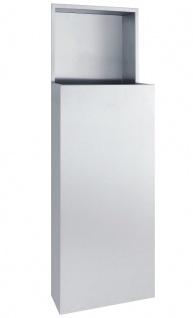 Wagner-EWAR Abfallbehälter 32l WP147 Edelstahl für Unterputzmontage