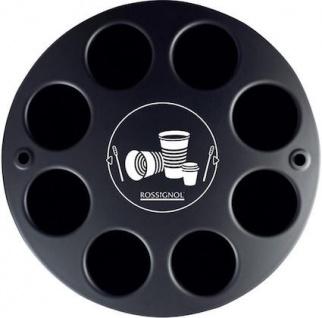 Rossignol Multigob schwarzer Bechersammler aus Kunststoff mit oder ohne Abfallkorb - Vorschau 2