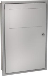 Franke Abfallbehälter RODX604E aus Chromnickelstahl zur Unterputzmontage