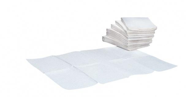 1 x Karton mit 80 Auflagetüchern für die Wickeltische von Mediclinics
