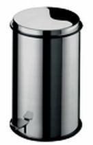 G-Line Pro Tritteimer Cortina Mini aus poliertem Edelstahl 1.4016