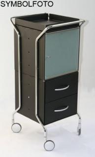Graepel High Tech hochwertiges Fach für den WEEL-U Trolley aus gebürstetem Edelstahl - Vorschau 1