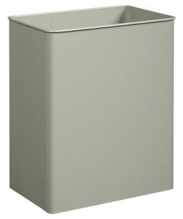 Rossignol schwenkbarer und quaderförmiger Abfallbehälter 27L zur Wandbefestigung