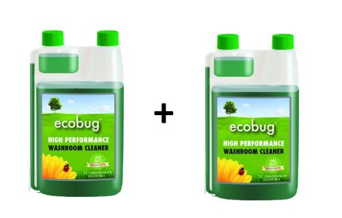 SET EcoBug® High performance Washroom Cleaner 2x - 1L Konzentrat