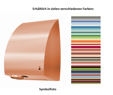 Dan Dryer Exclusive AE Händetrockner erhältlich in einer vielfältigen Farbauswahl