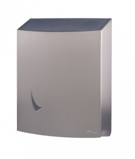 Wings Jumbo-Toilettenpapierspender aus Edelstahl Ø 290 mm