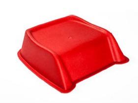 SET 36 Stk. Kunststoff PVC stabile Cinema Seat Sitzerhöhungen für Kinder in rot - Vorschau 2