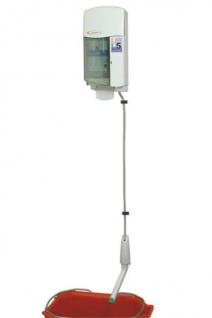 Dosing Care Brightwell Dosiersystem Concept Sink aus weißem Kunststoff zur Wandmontage