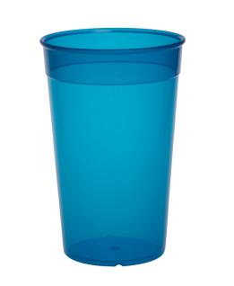 20er Set Mehrweg-Becher 0, 2l - blau aus Kunststoff