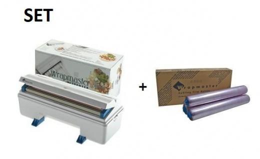 SET Effizienter Wrapmaster-Spender 3000 und Frischhaltefolie 3000 aus Polyethylen