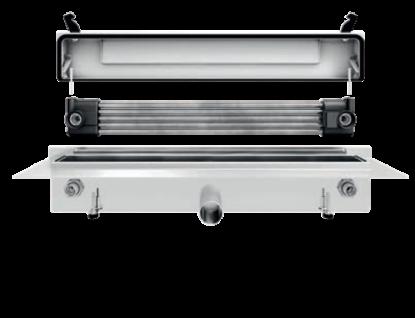 Franke Joulia-Inline JOBF5W Duschrinne mit Wärmetauscher zur wandseitigen Montage