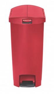 RUBBERMAID Slim Jim® Kunststoff-Tretabfallbehälter mit Pedal an der Schmalseite 50 L - Vorschau 4