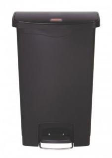 RUBBERMAID Slim Jim® Kunststoff-Tretabfallbehälter mit Pedal an der Breitseite 50 L - Vorschau 4