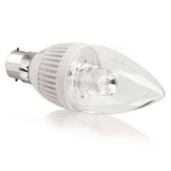 Aurora - 240V B15d 5W dimmbare LED-Kerze Lampe - schönes Design