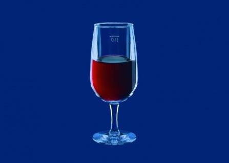 Weinglas 0, 1l SAN Glasklar aus Kunststoff wiederverwendbar - Vorschau 2
