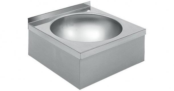 Franke Waschbecken WT450 aus Chromnickelstahl zur Wandmontage
