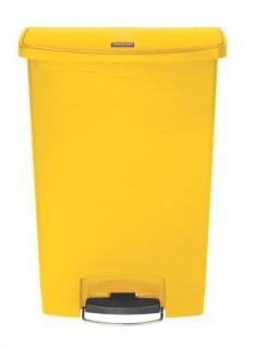 RUBBERMAID Slim Jim® Kunststoff-Tretabfallbehälter mit Pedal an der Breitseite 90 L - Vorschau 2
