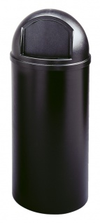 Marshal Container 95 Liter, Rubbermaid Schwarz