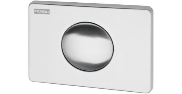 Franke Betätigungsplatte für Wandeinbau-Spülkasten mit 1 Betätigungstaste