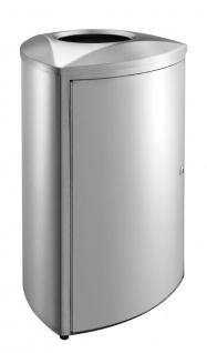Dreieckiger Design-Abfallbehälter 70 Liter