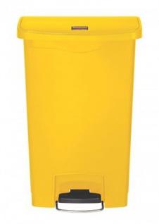 RUBBERMAID Slim Jim® Kunststoff-Tretabfallbehälter mit Pedal an der Breitseite 50 L - Vorschau 2