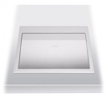 Wagner-EWAR Einwurfklappe 300x235x30 WP154-1 Edelstahl für Waschtischmontage