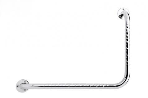FRELU - Winkelgriff - 459 x 610mm - Aus Edelstahl - Fingergriff - Rechts/Links - 150kg