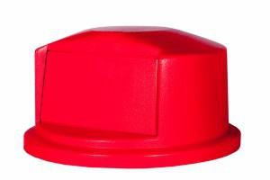 RUBBERMAID Kuppelaufsatz für Brute Container RI000087 Farbe Rot