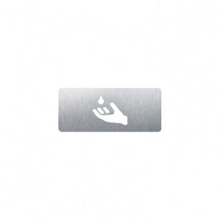 Wagner-EWAR Piktogramm Seife AC425 Edelstahl matt geschliffen